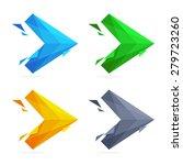abstract arrow logo  design... | Shutterstock .eps vector #279723260