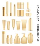 set of cosmetic tubes isolated... | Shutterstock .eps vector #279724424