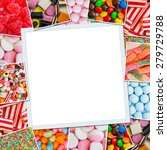 Frame Photos Of Candies And...