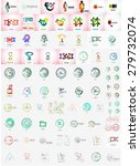 logo collection  abstract... | Shutterstock .eps vector #279732074