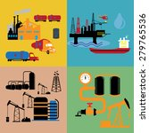 energy and industry icons set | Shutterstock .eps vector #279765536