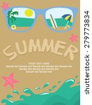 summer pool party | Shutterstock .eps vector #279773834