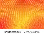 abstract red yellow floral... | Shutterstock . vector #279788348