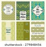 set of perfect wedding card... | Shutterstock .eps vector #279848456