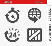 logistics icons. professional ...   Shutterstock .eps vector #279853244