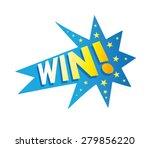 win  logo graphic fun icon | Shutterstock .eps vector #279856220