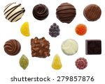 Mixed Sweets With Chocolates...