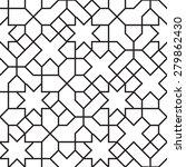 seamless girih geometric... | Shutterstock . vector #279862430
