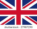 official flag of great britain | Shutterstock . vector #27987290