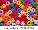 closeup of the multicolour... | Shutterstock . vector #279873839