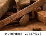rusted metal objects macro 2  | Shutterstock . vector #279874319