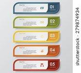 design clean number banners...   Shutterstock .eps vector #279874934