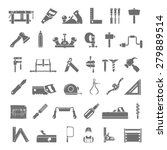black icons   traditional...   Shutterstock .eps vector #279889514