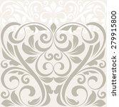 vintage greeting card. raster... | Shutterstock . vector #279915800
