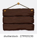 wooden texture and objects... | Shutterstock .eps vector #279935150