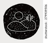 desert doodle | Shutterstock . vector #279939506