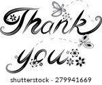 thank you | Shutterstock .eps vector #279941669