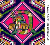 seamless aztec pattern   Shutterstock .eps vector #279979958