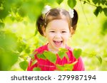 child playing outside. closeup... | Shutterstock . vector #279987194