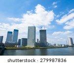 downtown corporate business... | Shutterstock . vector #279987836