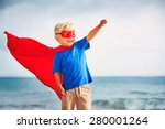 superhero kid | Shutterstock . vector #280001264