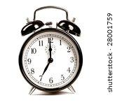 alarm clock | Shutterstock . vector #28001759