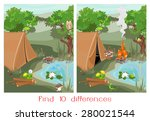 find ten differences | Shutterstock .eps vector #280021544