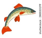 salmon | Shutterstock .eps vector #280033199