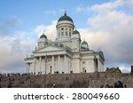 helsinki  finland   december 30 ...   Shutterstock . vector #280049660