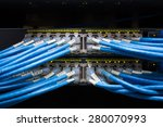 lights and connections on... | Shutterstock . vector #280070993