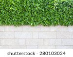 outer wall of house covered... | Shutterstock . vector #280103024