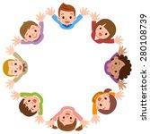 illustration of the kids... | Shutterstock .eps vector #280108739