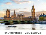 The Palace Of Westminster In...