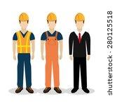 construction design over white... | Shutterstock .eps vector #280125518