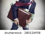 take the money and run | Shutterstock . vector #280126958