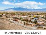 Small photo of Albuquerque residential suburbs, New Mexico