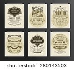set of poster  flyer  brochure... | Shutterstock .eps vector #280143503