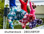 traditional scottish highland... | Shutterstock . vector #280148939
