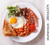 English Breakfast  Fried Egg ...