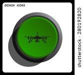 quadrocopter. icon. vector...   Shutterstock .eps vector #280192820