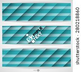 blue striped background. vector ... | Shutterstock .eps vector #280218860