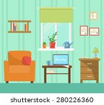 flat design vector illustration ... | Shutterstock .eps vector #280226360
