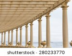 Romantic Promenade  Pergola In...