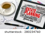 estate planning concept with... | Shutterstock . vector #280234760