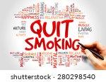 Quit Smoking Word Cloud  Health ...