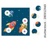educational game for children... | Shutterstock .eps vector #280312460