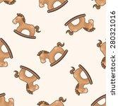 baby toy   cartoon seamless... | Shutterstock .eps vector #280321016