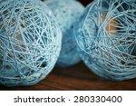 Colorful Wicker Ball