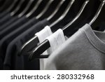 sports clothing on hangers ... | Shutterstock . vector #280332968
