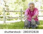 senior african american woman... | Shutterstock . vector #280352828